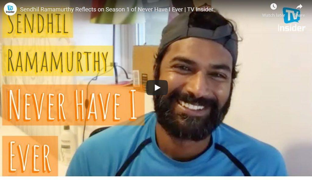 Sendhil Ramamurthy TV Insider